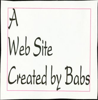 A Web Site Created by Babs:  Get Your Arse in Here!